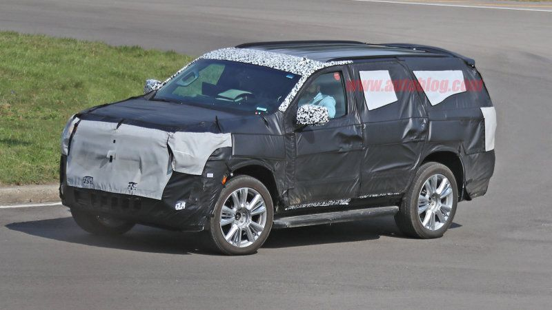 2020 Chevrolet Tahoe Spy Photos Reveal A Few Key Differences With