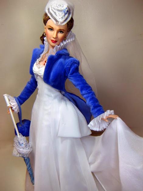 Scarlett o hara white dress graduation