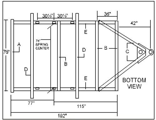 Gorgeous design trailer building plans free 14 olane on for Small trailer plans free