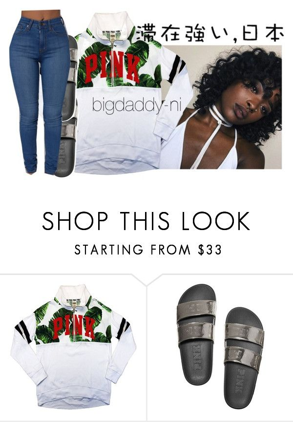 """""""SZA - Love Galore"""" by bigdaddy-ni liked on Polyvore featuring Victoria's Secret PINK and Ÿù ..."""