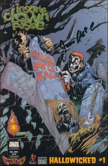 insane clown posse hallowicked 1 b nov 2001 comic book by chaos