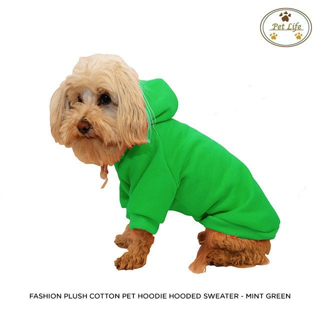Pet Life Fashion Plush Dog Hoodie - Assorted Colors