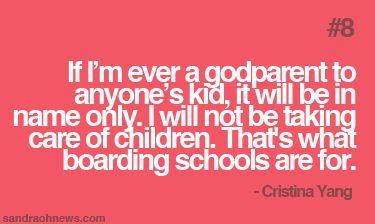 Cristinaisms #8: Godparenting