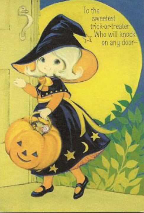 Explore Vintage Halloween Cards Retro And More