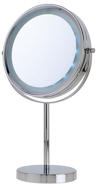 adf1f370d8 Danielle Creations 5x/1x LED-Lighted Reversible Vanity Makeup Mirror D126 |  seattleluxe.com | seattleluxe.com