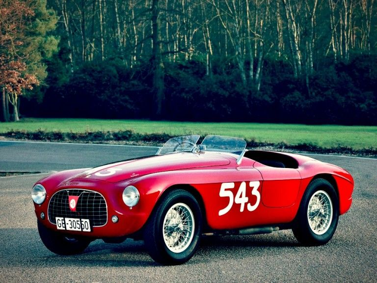 Race Car for sale 1952 Ferrari 212 Export Touringbodied