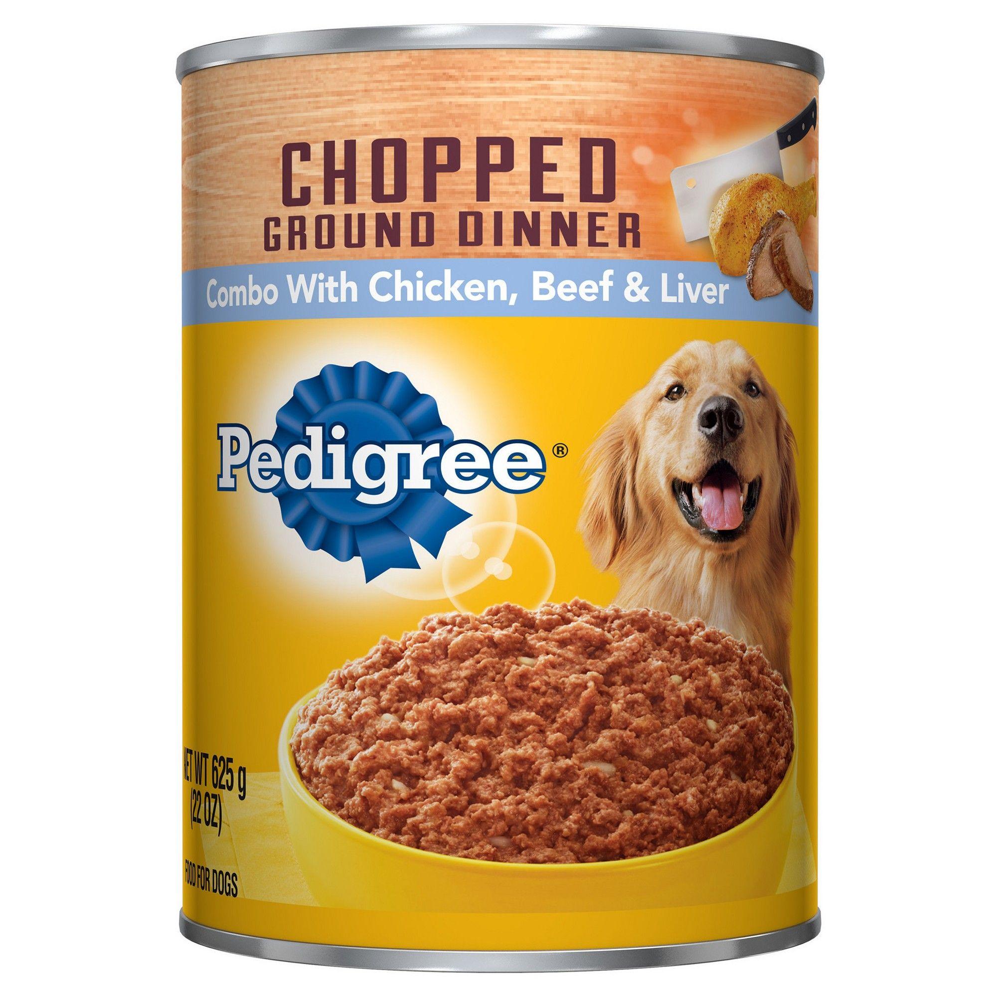 Pedigree Chopped Chicken Beef & Liver Meaty Ground Dinner