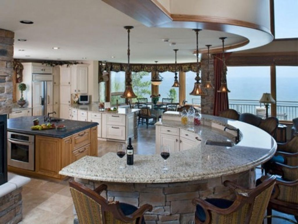 Image result for round kitchens