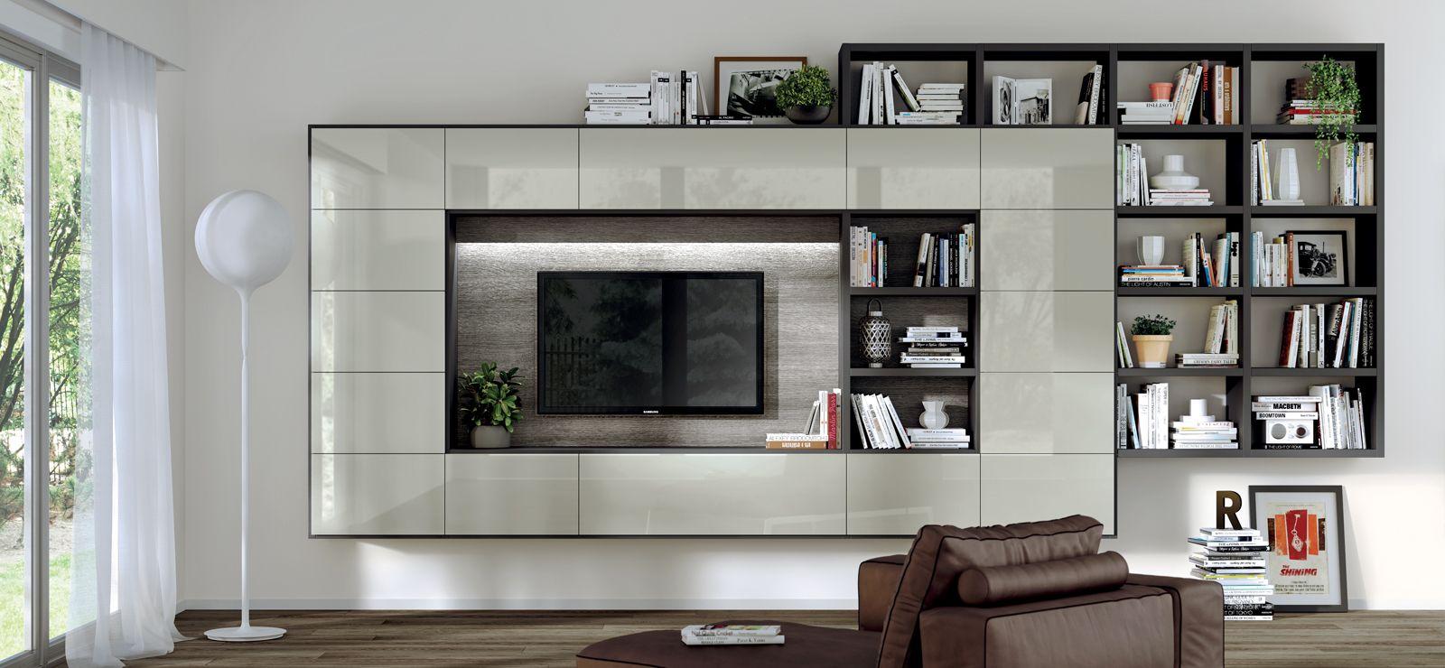 Le nostre pareti attrezzate moderne ti aspettano. Living Room Scavolini Usa Italian Living Room Decoration Ideas And Furniture Italian Living Room Minimalist Living Room Trending Decor