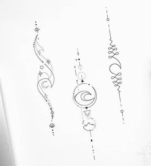 Photo of El significado del tatuaje unalome, el símbolo de la tradición hindú