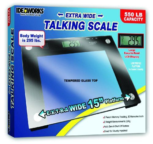 Bathroom Scale Décor | Extra Wide Talking Scale ** Read More Reviews Of The  Product