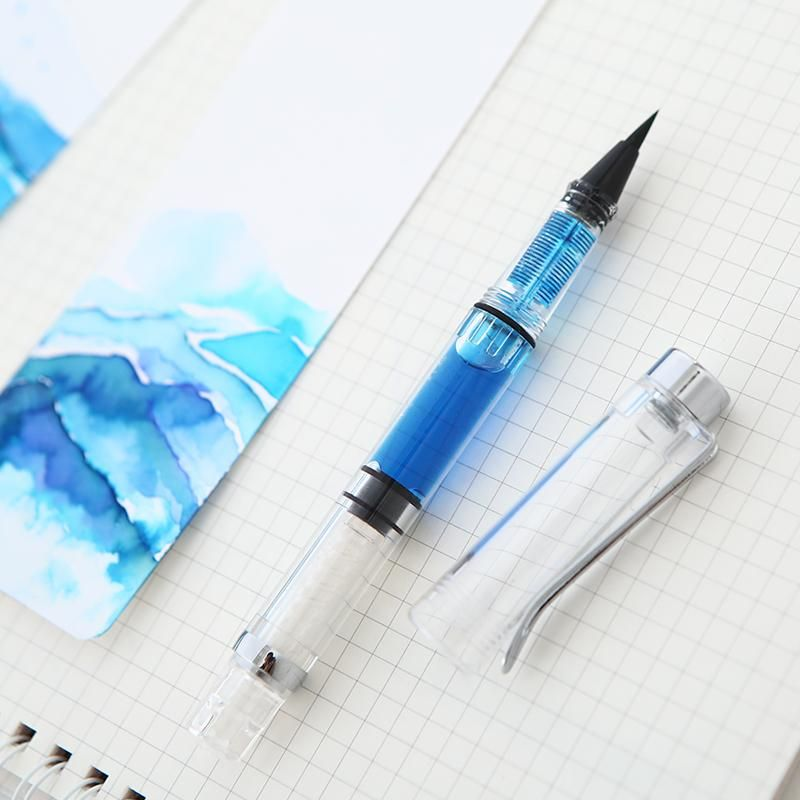New Arrival Refillable Ink Water Brush Pen Fountain Water Brush for Calligraphy