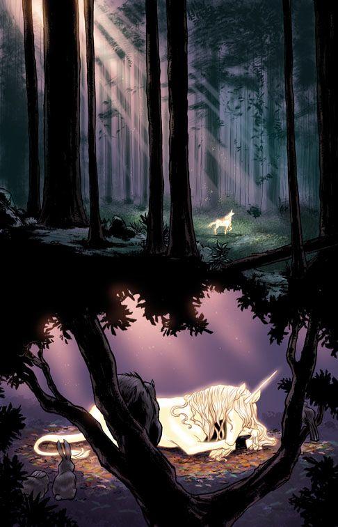 The Last Unicorn Comic 1 By Peter S Beagle Art By Renae De Liz
