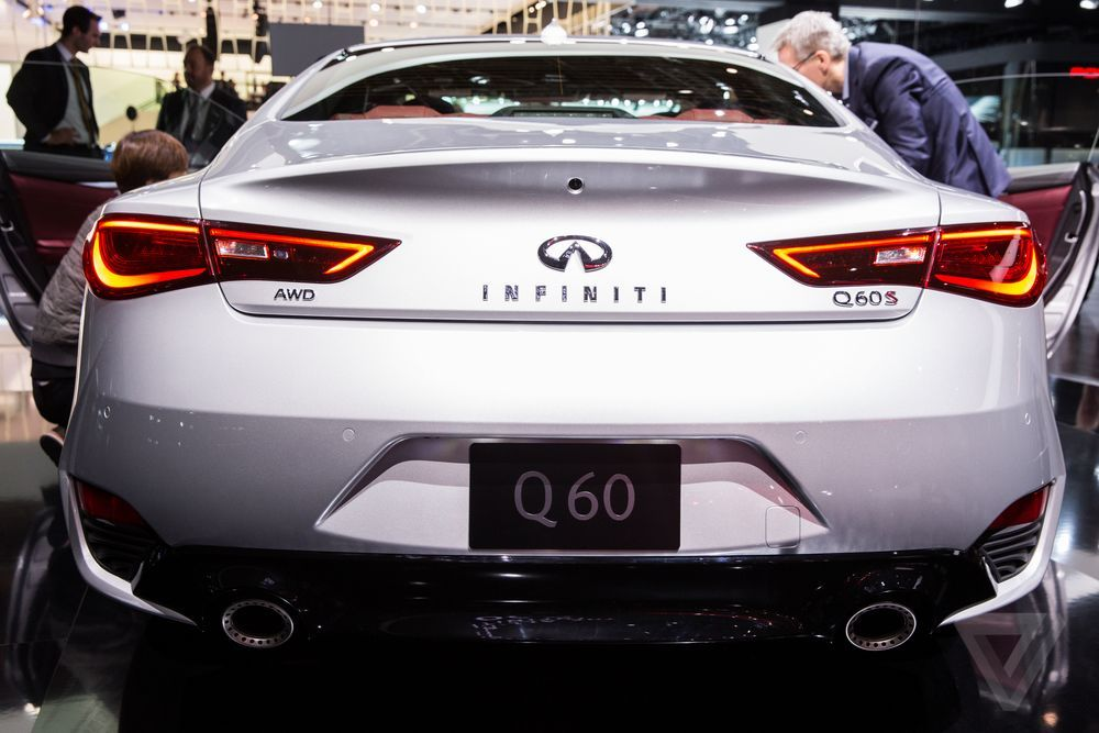 The New Infiniti Q60 Is A Svelte Luxury Sports Coupe With 400 Horsepower With Images Car Wheels Car Wheels Rims Car Wheel Cover
