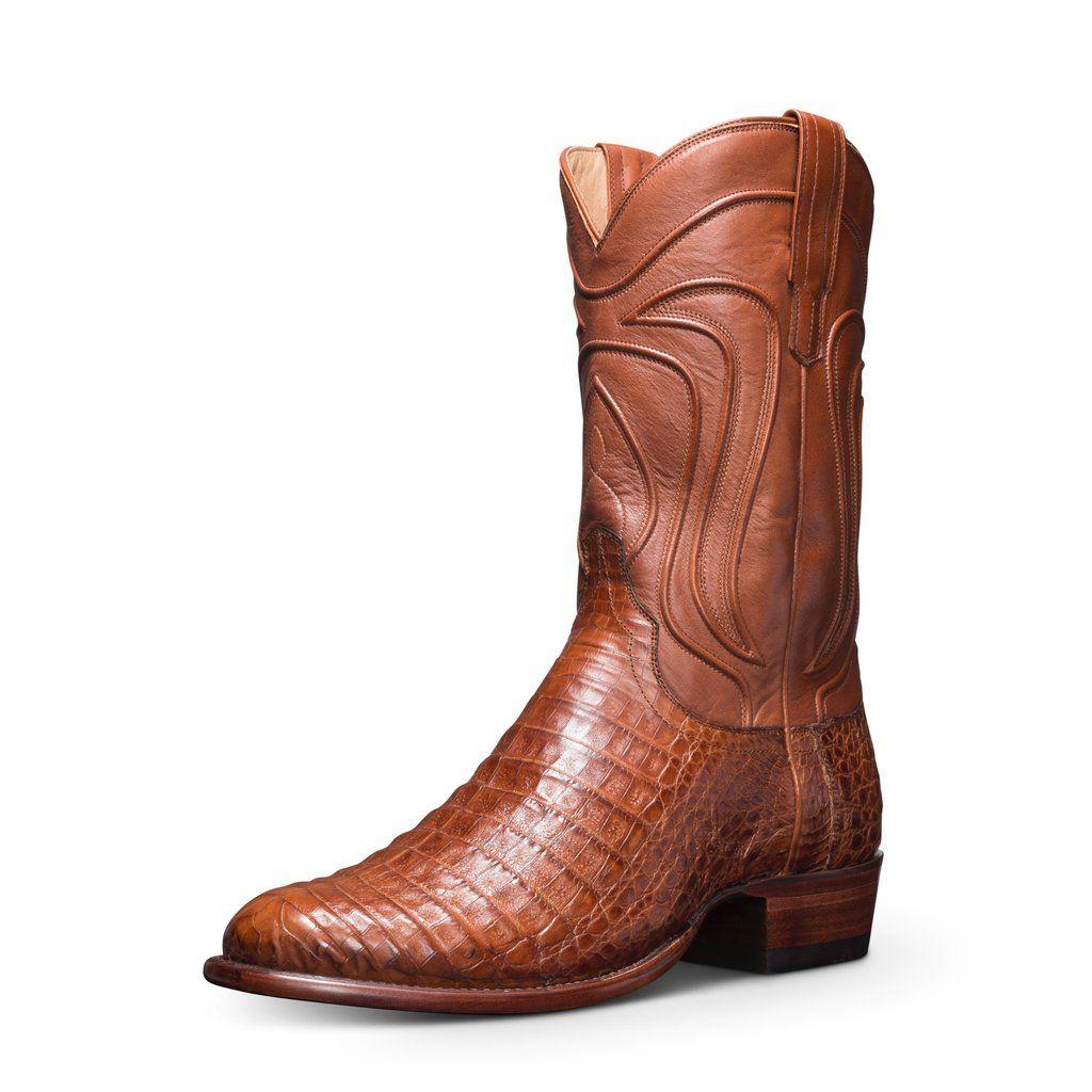 fe68b0d7284 The Dillon | A Handmade, Caiman Belly Cowboy Boot | Tecovas Size 10 ...