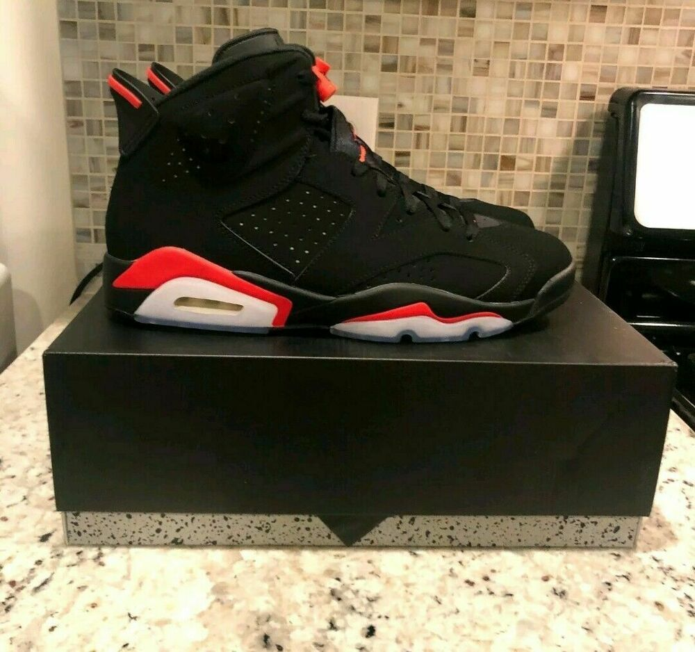 check out ec438 849ba 2019 Nike AIR JORDAN 6 VI RETRO OG Black INFRARED 384664 060 Men s Size  10.5 NIB  shoes  kicks  solecollector