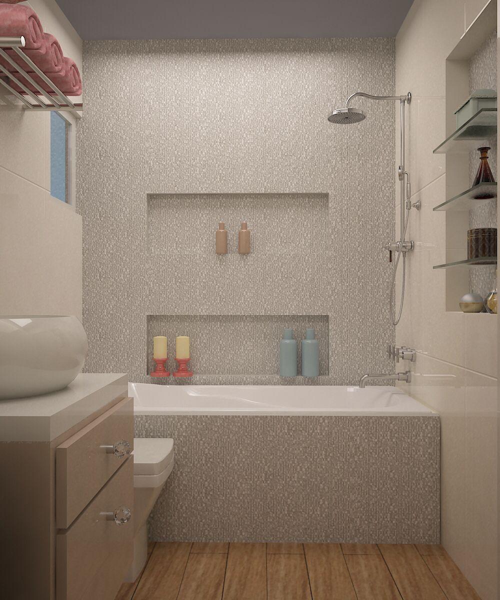 Tina, baño niña, cubica blanco porcelanosa   Baños para ...