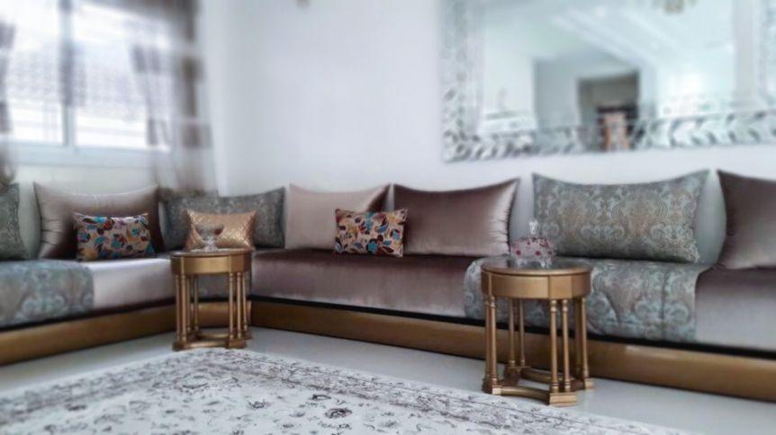 Idées Salon Marocains moderne et traditionnel