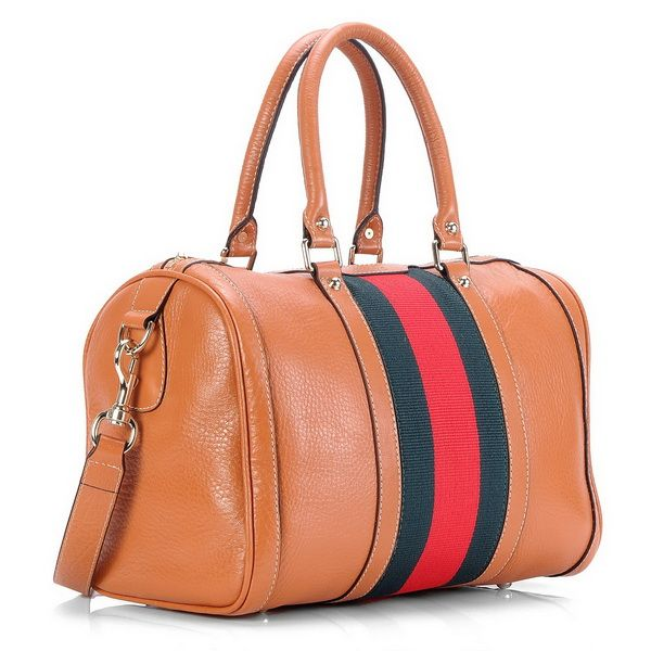 Gucci Orange Vintage Web Medium Boston Bag Replica 247205 Dl15339 248 89 Outlet Online Uk