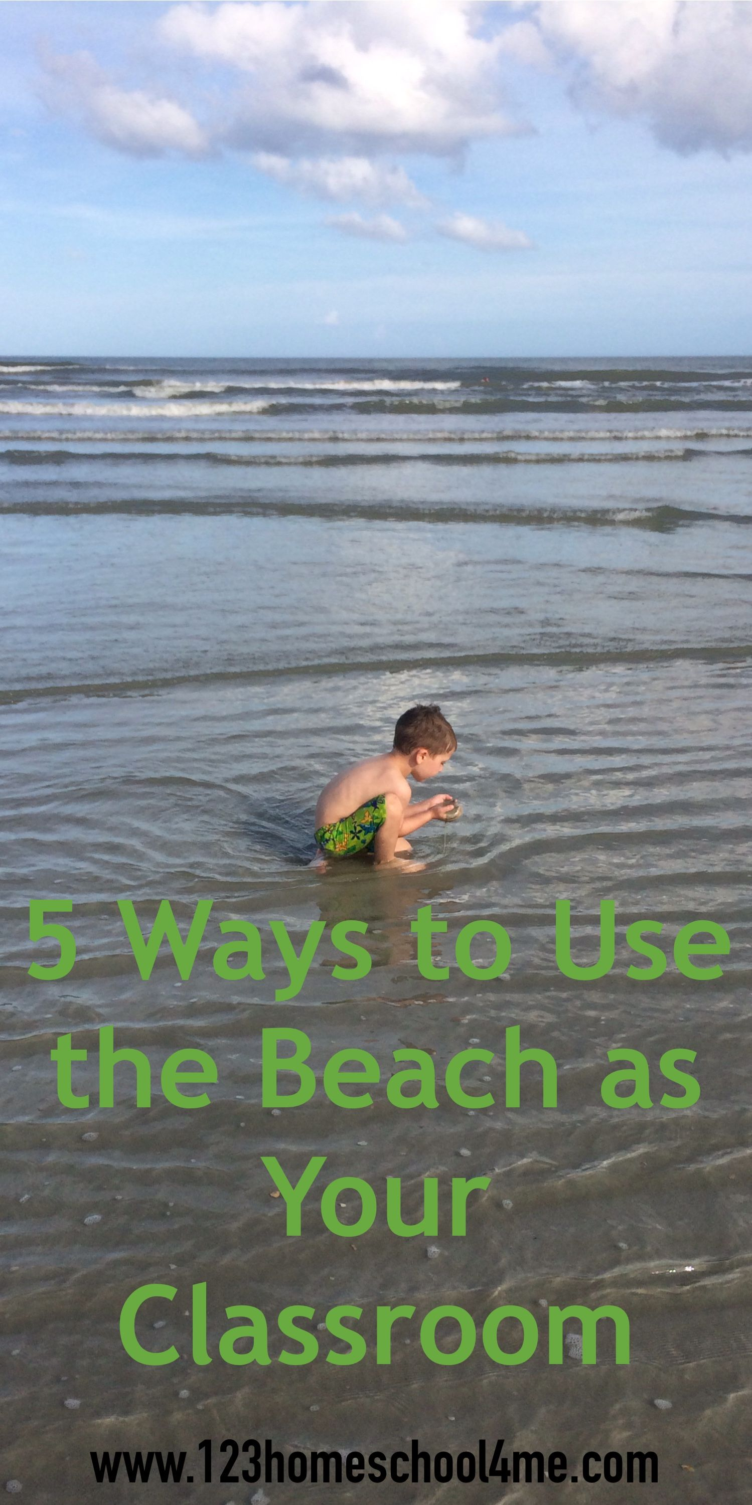 5 Ways To Use The Beach As Your Classroom