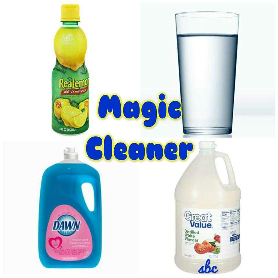 2oz dawn 4oz lemon juice 8 oz vinegar 10 oz water