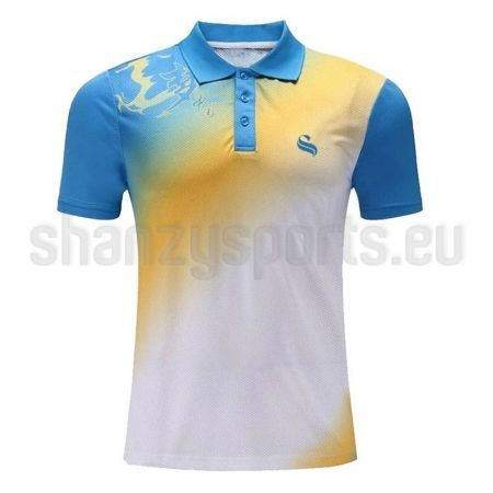 Gym wears shanzy sports polo shirts polo shirts for men for Custom polo shirt design