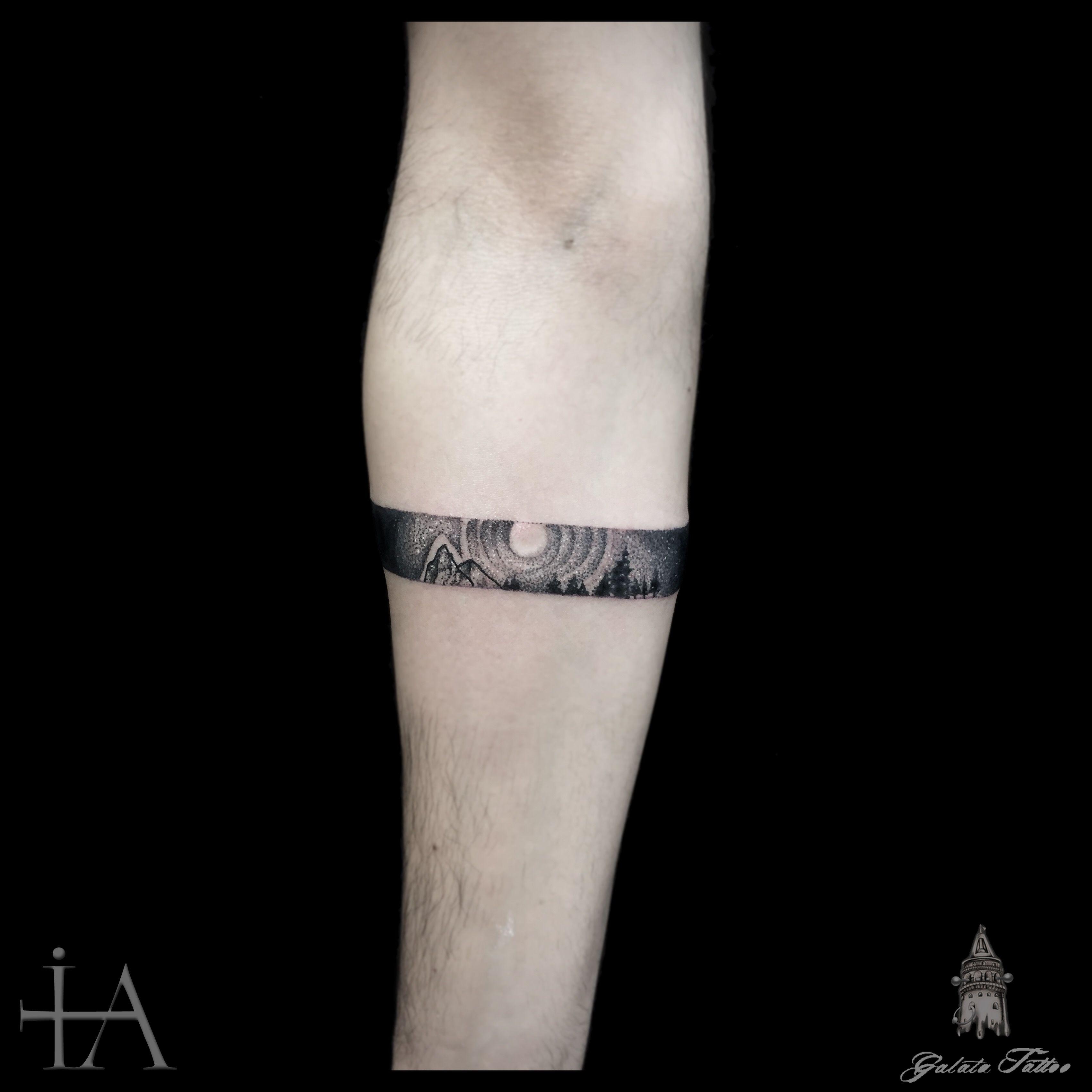 Mann tattoo band unterarm 50 einzigartige