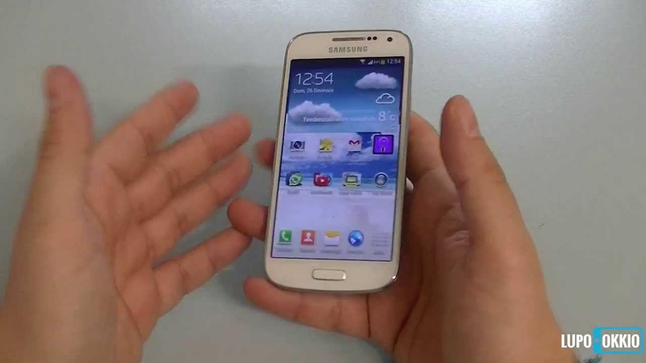 Samsung Galaxy S4 Mini Videorecensione da Lupokkio.it (+playlist)