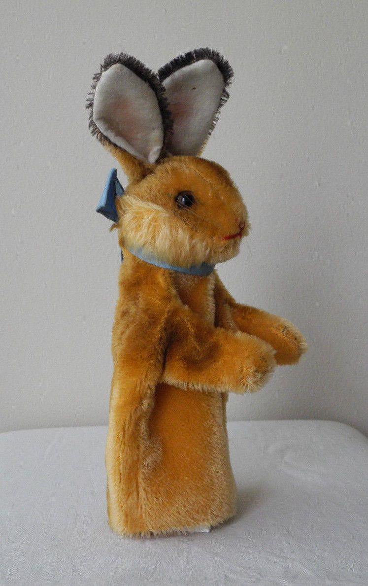 Original STEIFF Bunny Rabbit Puppet - Vintage German Toy - mohair plush |  Dolls & Bears, Bears, Steiff | eBay!