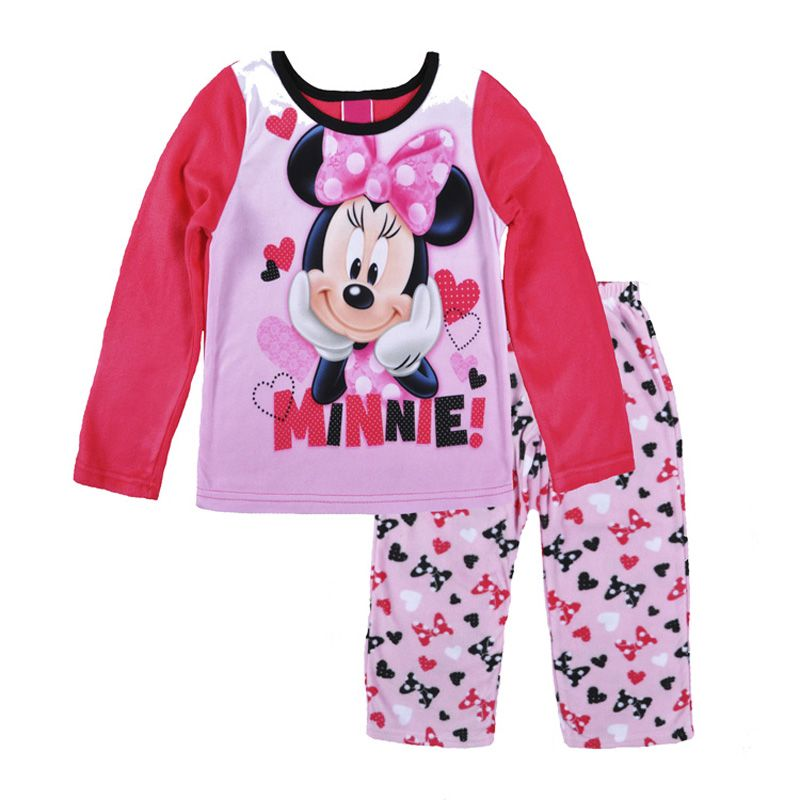 Cute Cartoon Mouse girl kids Clothing pyjamas Cartoon