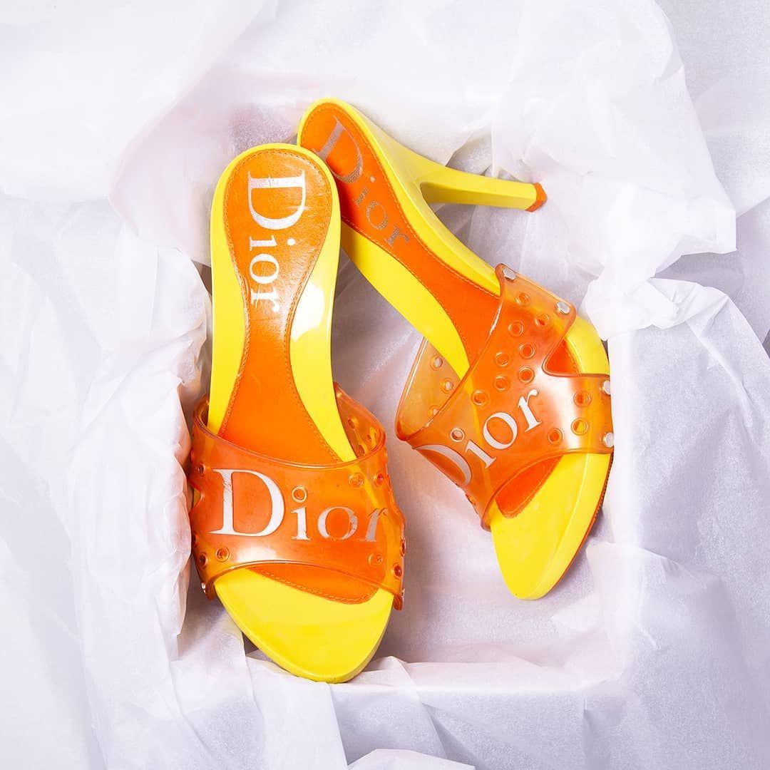 John Galliano jelly heels