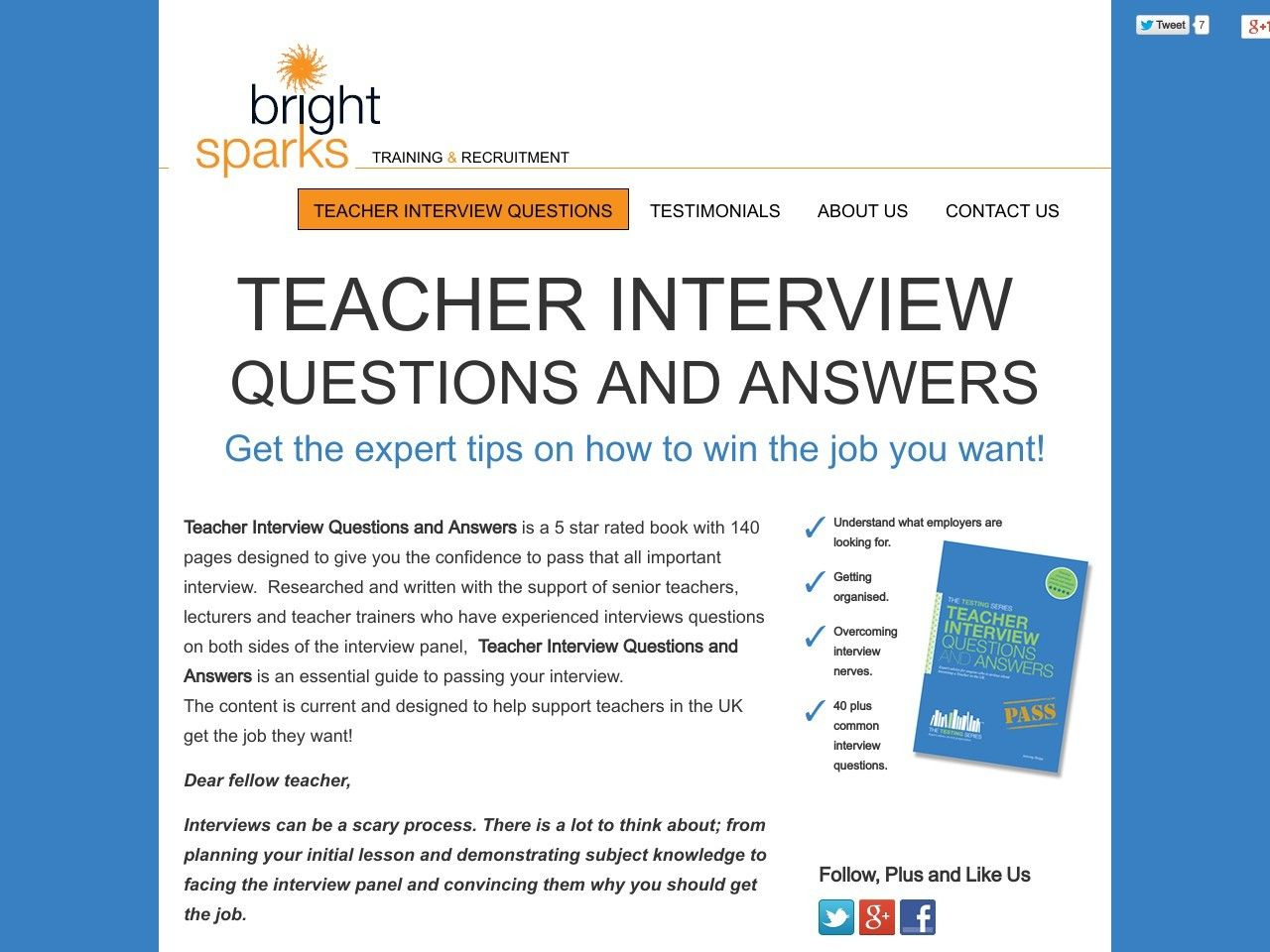 ① teacher interview questions and answers vnulab be ① teacher interview questions and answers vnulab be