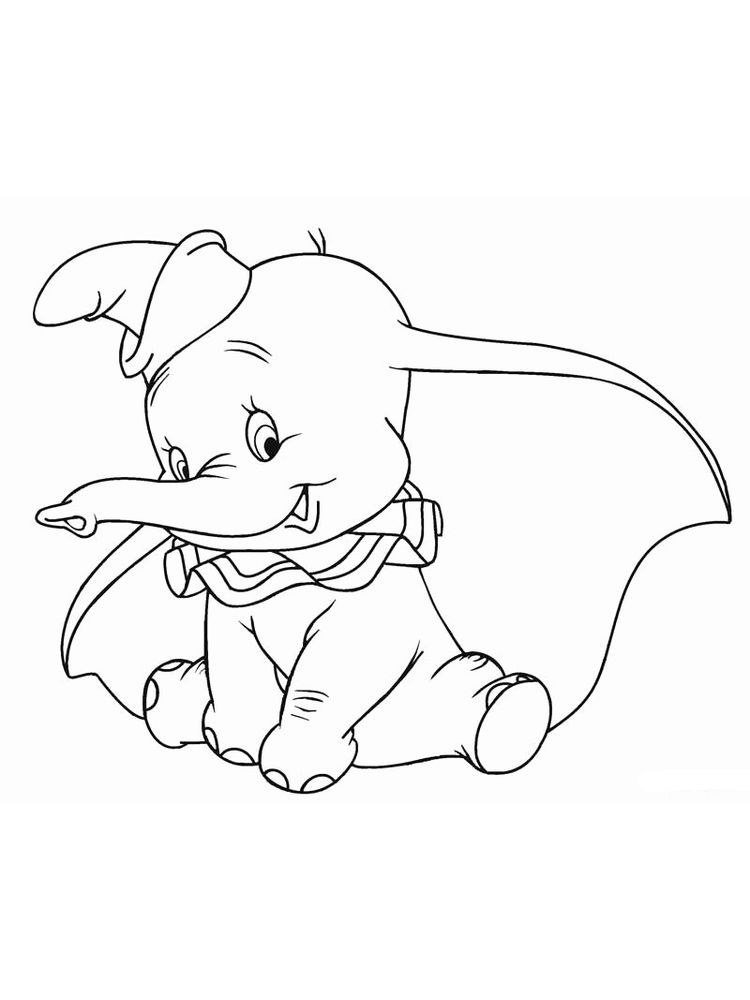 Dumbo Coloring Pages Free Pdf Disney Fans Certainly Know About The Elephant Film Dumbo Dumbo I Disney Prinzessin Malvorlagen Disney Malvorlagen Disney Farben