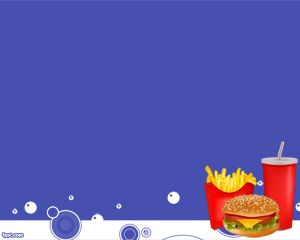 Junk Food Powerpoint Template Is Associated With The Junk Food