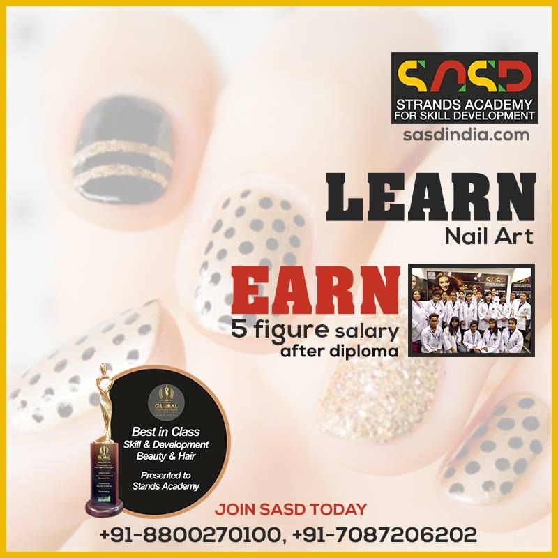 Strands Academy Offers Certificate Courses In Nail Art Nail