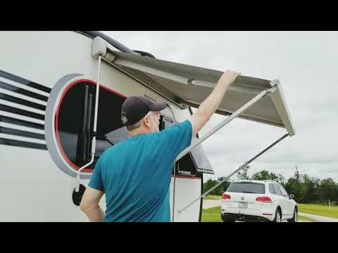 Little Guy Max Awning - YouTube   Awning, Guys, Max