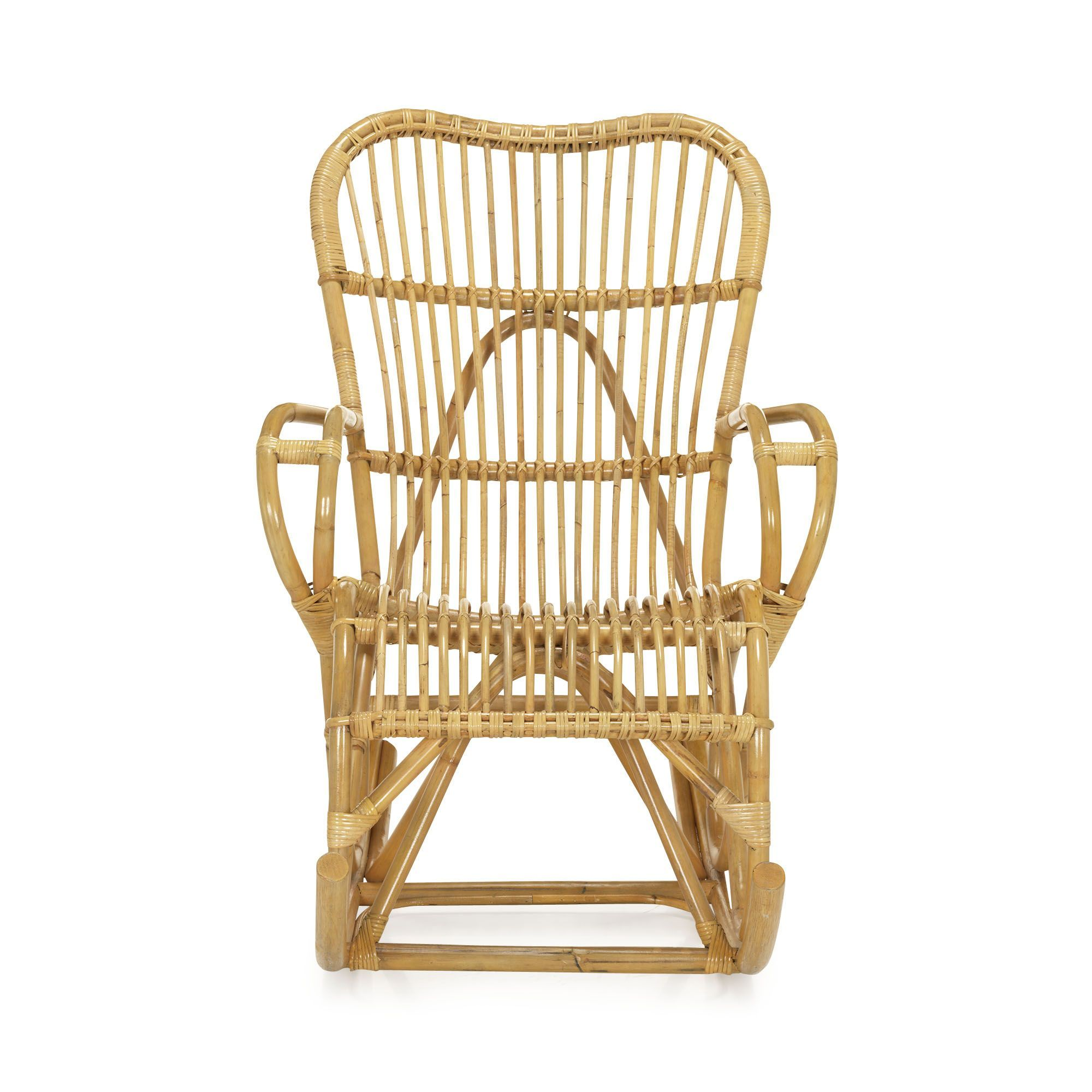 fauteuil rocking chair en rotin naturel naturel tristan fauteuils fauteuils et poufs. Black Bedroom Furniture Sets. Home Design Ideas