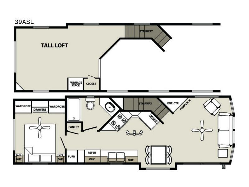 Image Result For Floor Plans For Bunkhouses With Lofts Floor Plans House Plans House Floor Plans