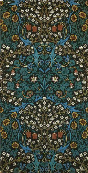 William Morris, Wallpaper Sheet