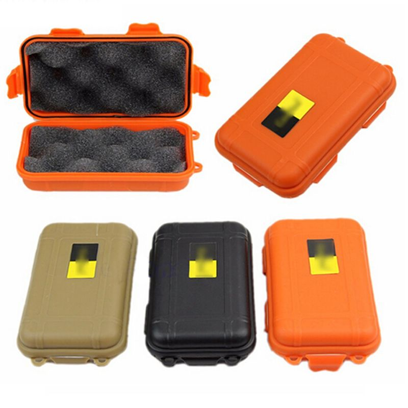 Outdoor Survival Case Shockproof Pressure Waterproof Box Watertight Seal Box Survival Equipment Storage B Waterproof Storage Equipment Storage Airtight Storage