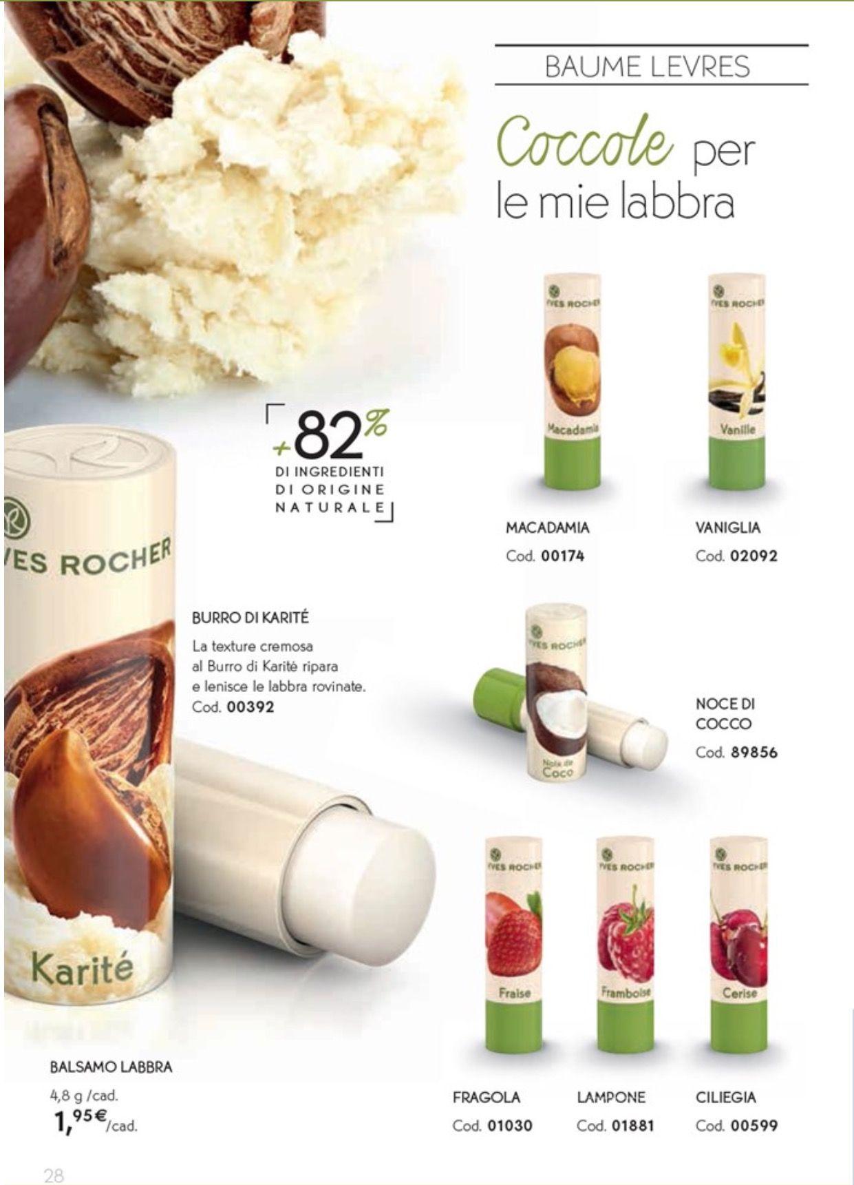 Labbra NaturaliNon Yves Balsamo RocherA Base Ingredienti Di CdBexo