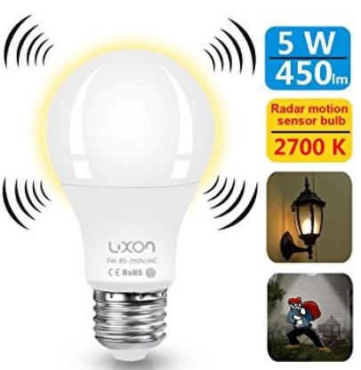 Top 10 Best Motion Sensor Light Bulbs In 2020 Reviews Buyer S Guide Motion Sensor Lights Light Sensor Light Bulb