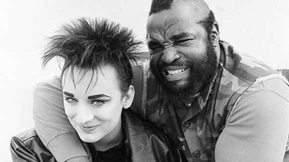 That time Boy George kicked down a door on 'The A-Team'