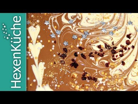 Bruchschokolade mit Goldglitter #weihnachtsmarktideenverkauf