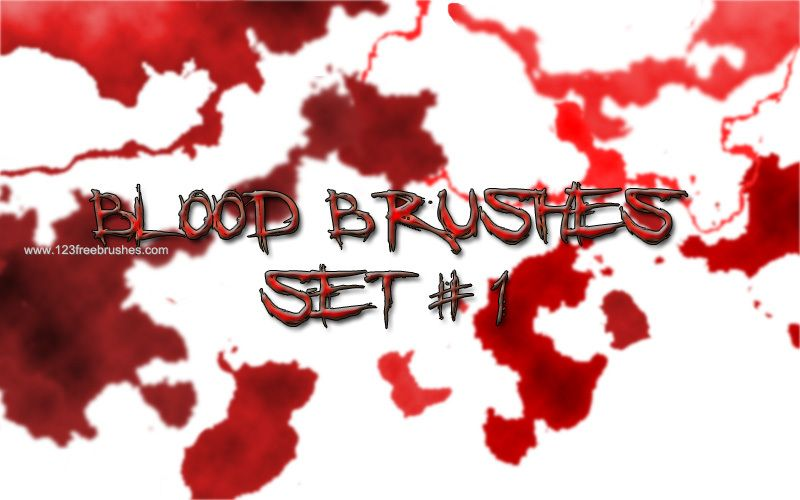 Blood Set 1 - Download  Photoshop brush https://www.123freebrushes.com/blood-set-1/ , Published in #BloodSplatter, #GrungeSplatter. More Free Blood splatter Brushes, http://www.123freebrushes.com/free-brushes/blood-splatter/ | #123freebrushes , #Bleed, #Blood, #BloodBrushes, #BloodPhotoshopBrushes, #BloodSplash, #BloodSplat, #BloodSplatter, #BloodSplatterBrushes, #BloodSplatterBrushesPhotoshop, #BloodSplatterEffect, #BloodSplatterPng, #BloodSplatters, #Bloody, #Blots, #Cs5Gru