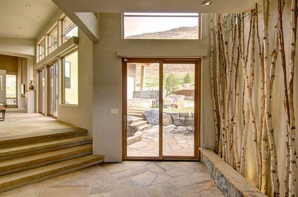 interior design tree - Birches, rees and Interior design on Pinterest