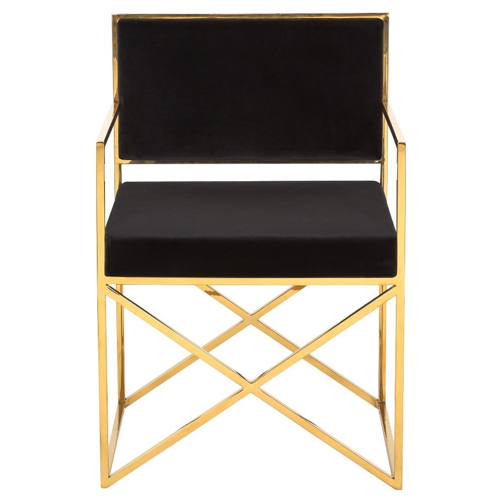 Best Accent Chairs Black Safavieh Velvet Furniture Chair 400 x 300