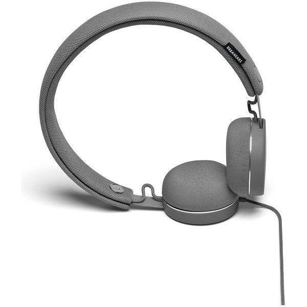 Urbanears Humlan The Wash & Wear Headphones - Dark Grey (565 MXN) ❤ liked on Polyvore featuring accessories, tech accessories, music, dark grey, urbanears headphones and urbanears