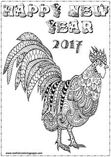 Chinese New Year 2017 Animal Coloring Pages Mko Session Two