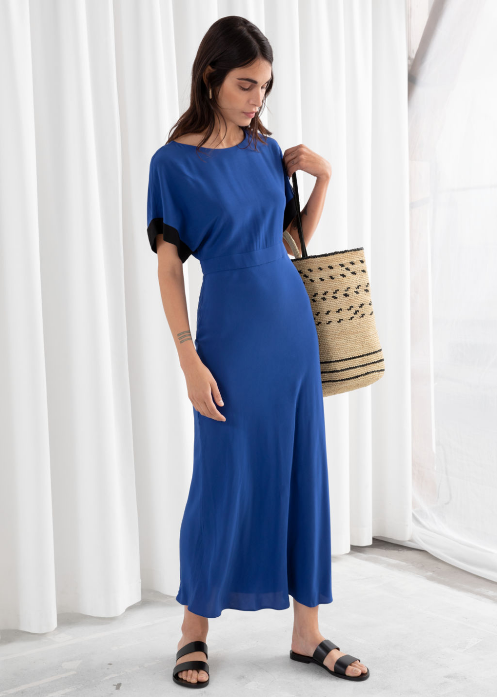 Pdp Maxi Dress With Sleeves Maxi Dress Short Sleeve Maxi Dresses [ 1400 x 1000 Pixel ]